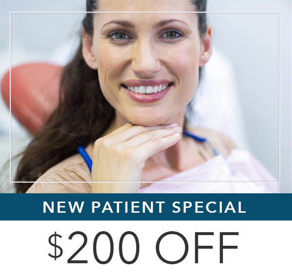 Get $200 off your new dental implants