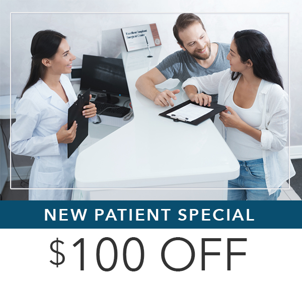 Receive $100 off all dental treatments